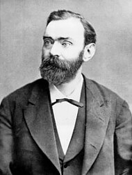 Alfred Nobel invented dynamite
