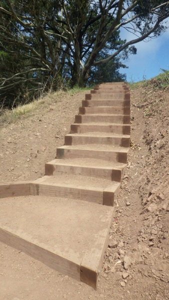 glen canyon steps - copyright tony holiday